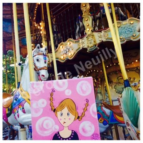 Mademoiselle Alice au Carrousel de la Tour Eiffel