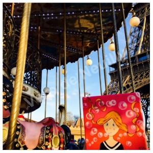 Mademoiselle Vanille au Carrousel de la Tour Eiffel