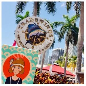 Mademoiselle Vanille en séjour à Miami