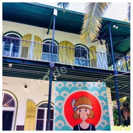 Mademoiselle Vanille à Key West chez Hemingway