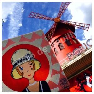 Mademoiselle Vanille au Moulin Rouge